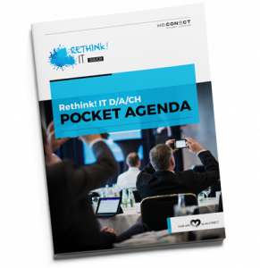 Agenda des IT Summits Rethink IT DACH